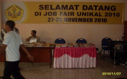 Job Fair UNIKAL  diikuti Oleh Lebih dari 20 Perusahaan