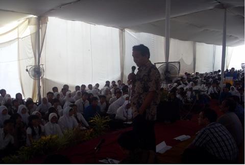 Program PROPERTI bagi Mahasiswa Baru  UNIKAL tahun 2011