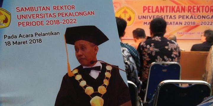 Suryani Dilantik Jadi Rektor Universitas Pekalongan 2018- 2022