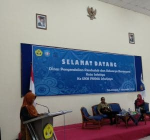Study Banding Dinas Pengendalian Penduduk dan Keluarga Berencana Kota Salatiga ke UKM PIKMA Sriwijaya