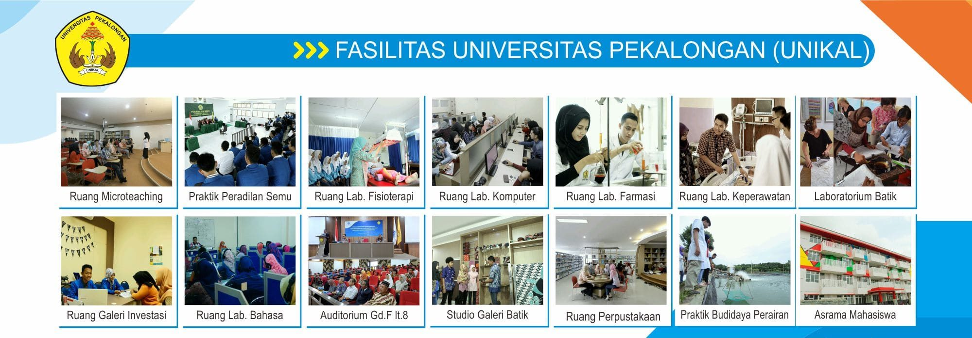 fasilitas universitas pekalongan