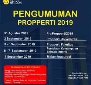 Properti 2019
